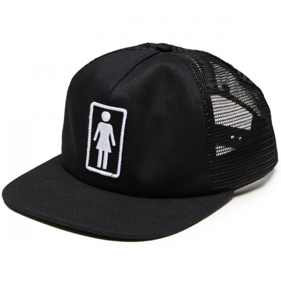 Girl Everyday Trucker Hat - Black