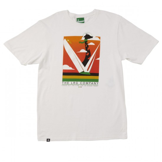 LRG Get Out The View T-Shirt - White