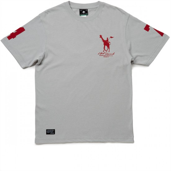 LRG Derby T-Shirt - Light Grey Heather