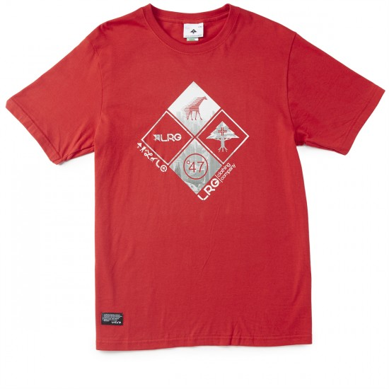 LRG RC Clustered Front T-Shirt - Red