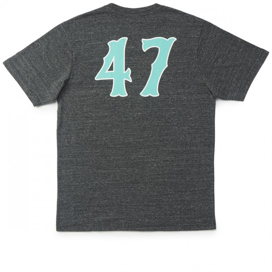LRG RC Lifted 47 T-Shirt - Black Heather