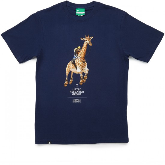 LRG Leaps N Bounds T-Shirt - Navy