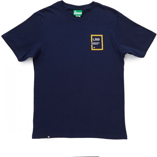 LRG International Geographic T-Shirt - Navy
