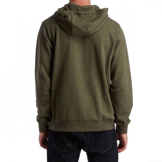 LRG Curiosity Pullover Hoodie - Olive Drab Heather