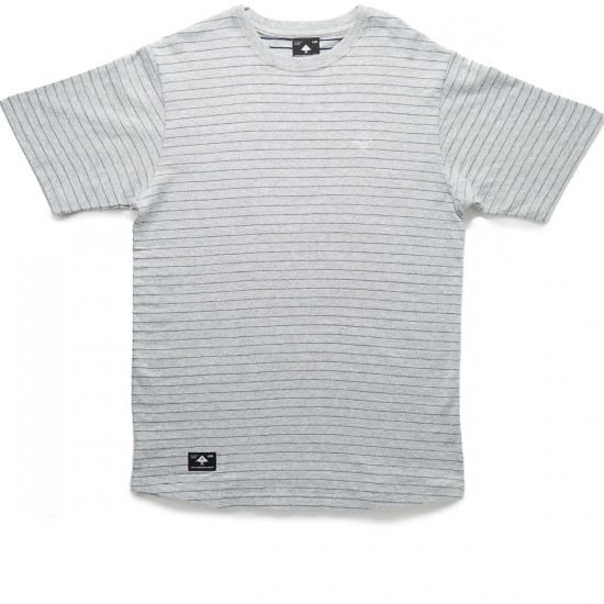 LRG Roots Foundation Scoop T-Shirt - Navy