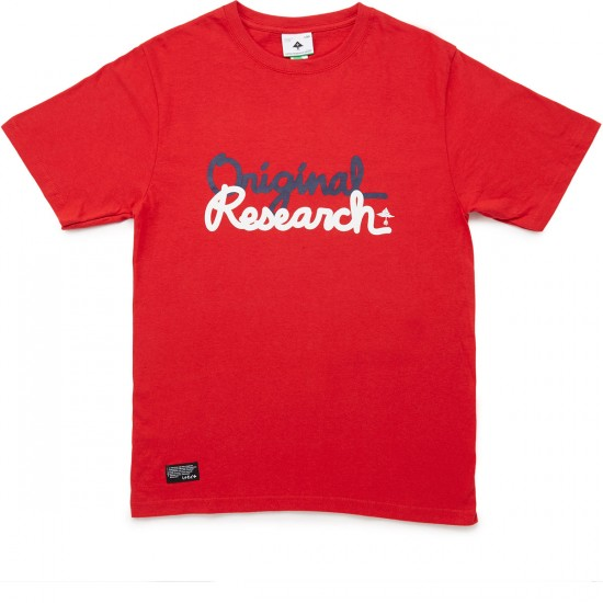 LRG RC The Original Research T-Shirt - Red