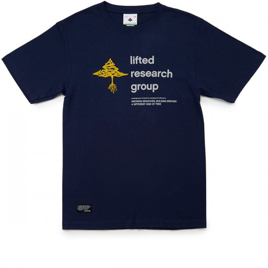 LRG RC The Old Tree T-Shirt - Navy