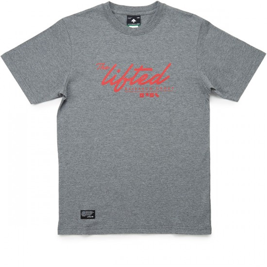 LRG Scripted Research T-Shirt - Charcoal Heather