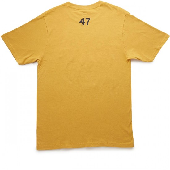 LRG Astro T-Shirt - Warrior Yellow