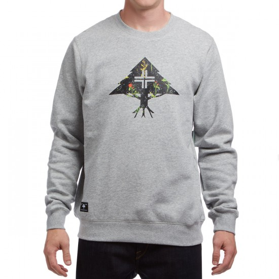 LRG RC Roundabout Crewneck Sweatshirt - Ash Heather
