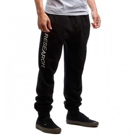 LRG Stronger Branches Sweat Pants - Black - LG