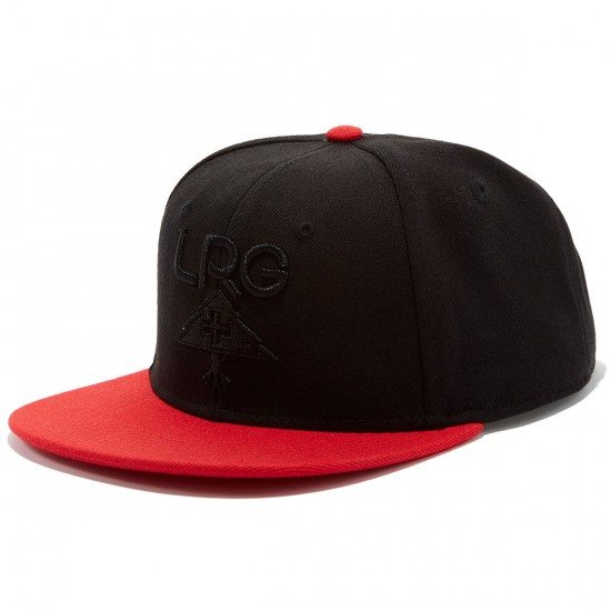 LRG Research Collection Snapback Hat - Black