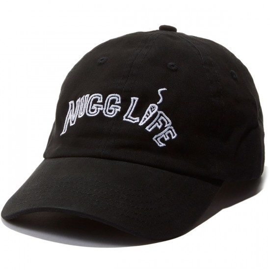 Hustle Trees Nugg Life Dad Hat - Black
