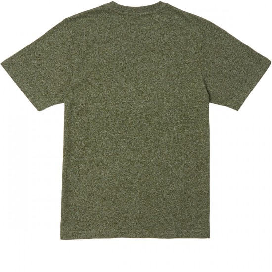 LRG Standard Issue T-Shirt - Military Olive Heather