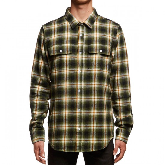 LRG Vice Long Sleeve Shirt - Military Olive