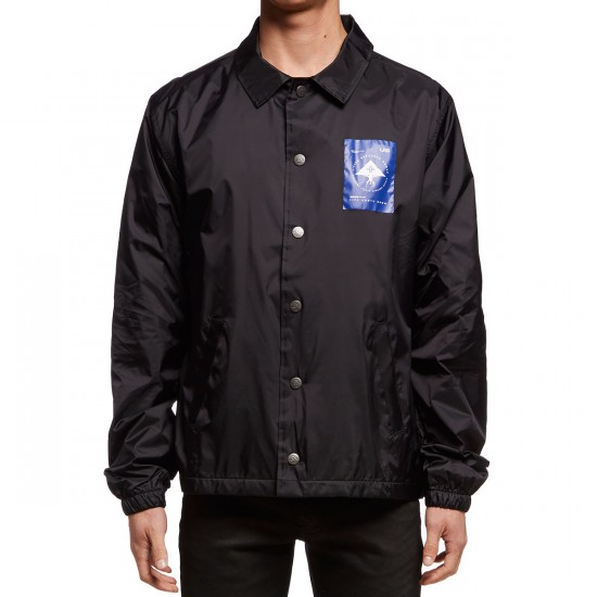 LRG Life Roots Coaches Jacket - Black