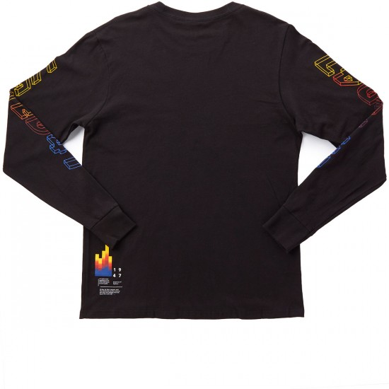 LRG Colors Of The World Long Sleeve T-Shirt - Black