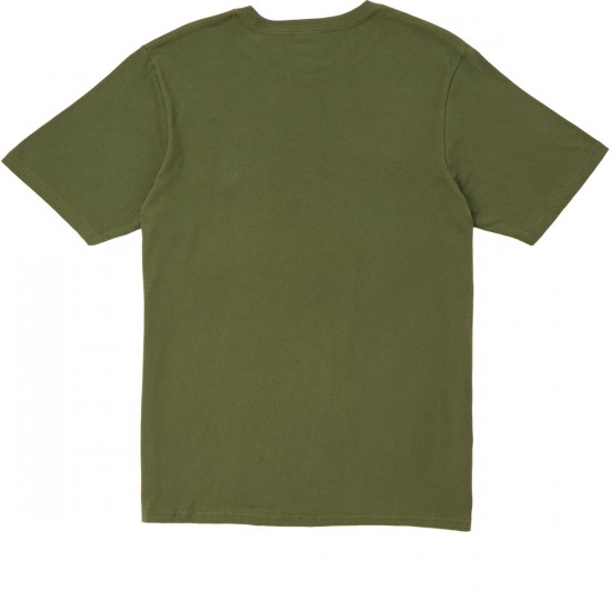 LRG Dressed To Kill T-Shirt - Military Olive