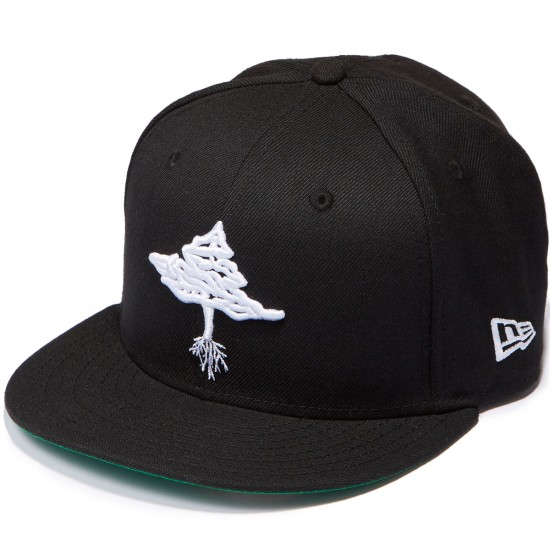 LRG Retro Eternity Snapback Hat - Black