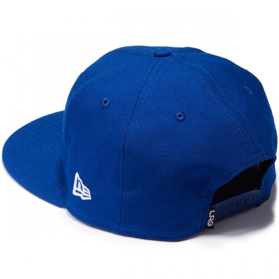 LRG Retro Eternity Snapback Hat - Prussian Blue