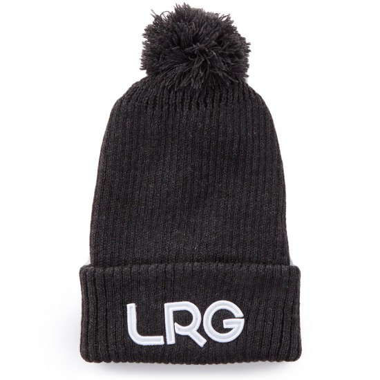 LRG Modern Classics Beanie - Black Heather