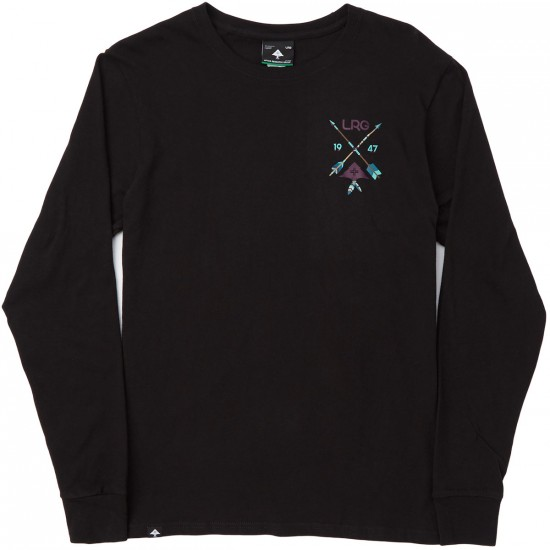 LRG Broken Arrow Long Sleeve T-Shirt - Black