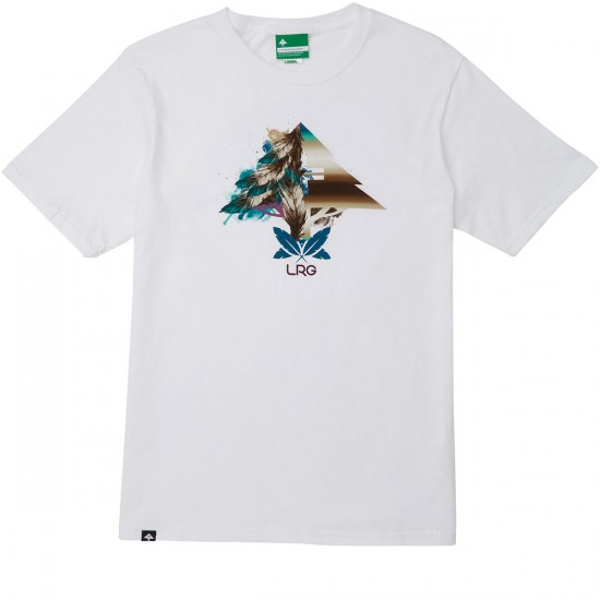 LRG Lit As A Feather T-Shirt - White