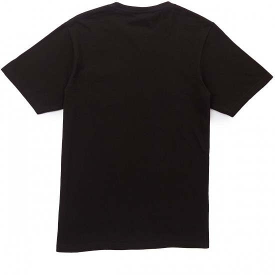 LRG X Grizzly Boss Bear Pocket T-Shirt - Black