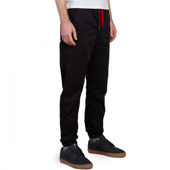 LRG Game Changer Jogger Pants - Black - 30 - 32
