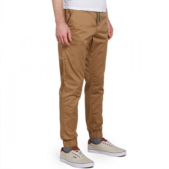LRG Game Changer Jogger Pants - Khaki - 30 - 32