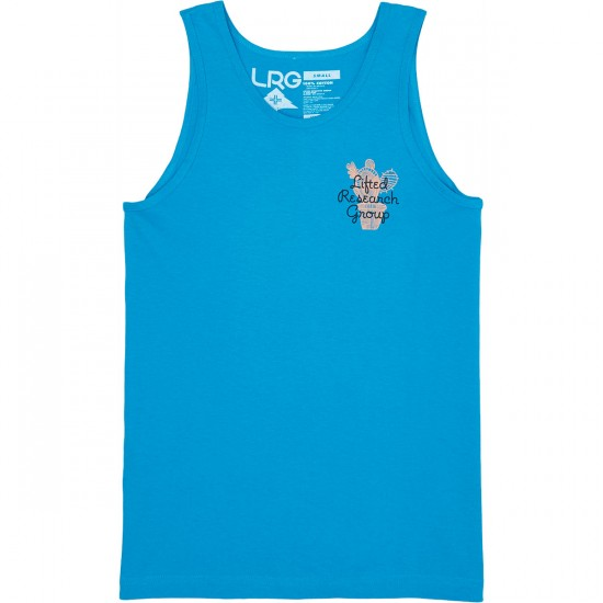 LRG Don't Be A Prick Tank Top - Ocean Blue