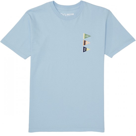 LRG Loose Lips Sink Ships T-Shirt - Baby Blue