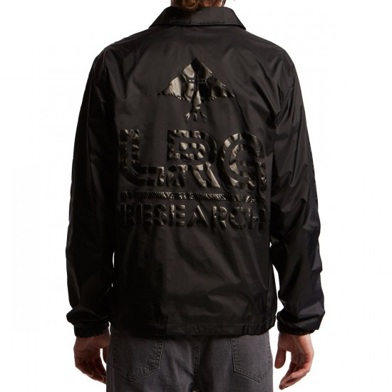 LRG Research Coaches Jacket - Black