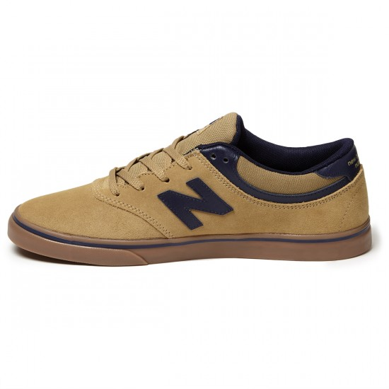 New Balance Quincy 254 Shoes - Tan/Navy - 8.0