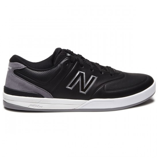 New Balance Logan 637 Shoes - Black - 9.0