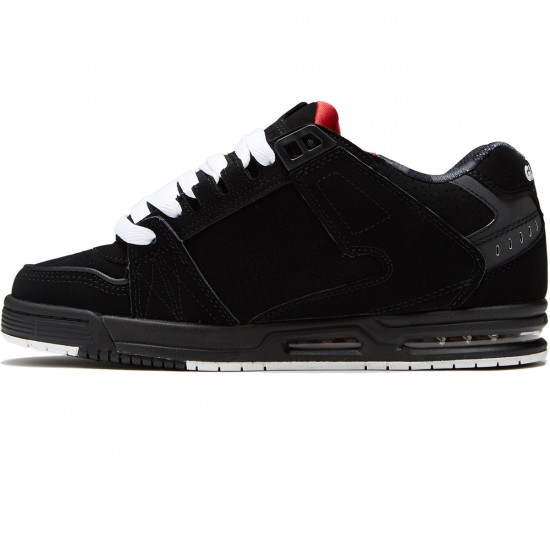 Globe Sabre Shoes - Black/Red