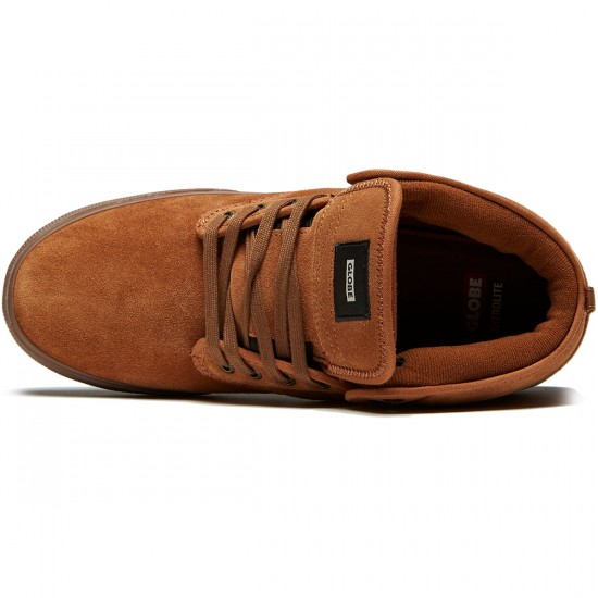 Globe Motley Mid Shoes - Brown/Tobacco - 8.0