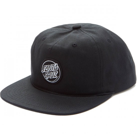 Santa Cruz Aptos Snapback Hat - Black