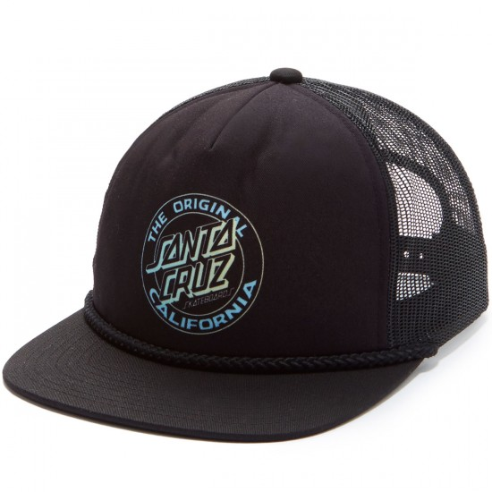 Santa Cruz Cali Fade Trucker Hat - Black