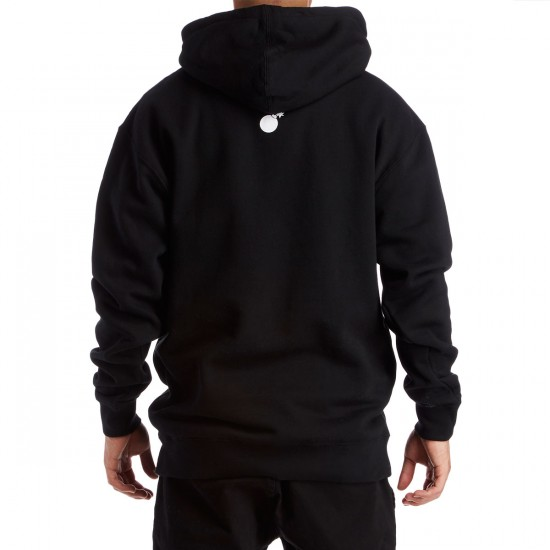 The Hundreds Forever Slant Pullover Hoodie - Black