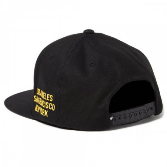 The Hundreds Deny Snapback Hat - Black