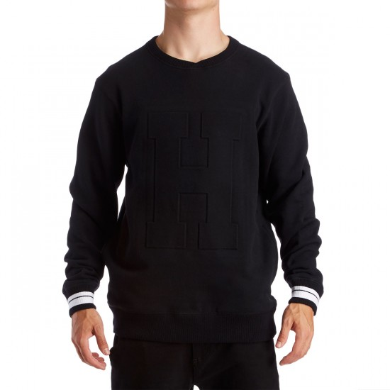 The Hundreds Niel Crewneck Sweatshirt - Black