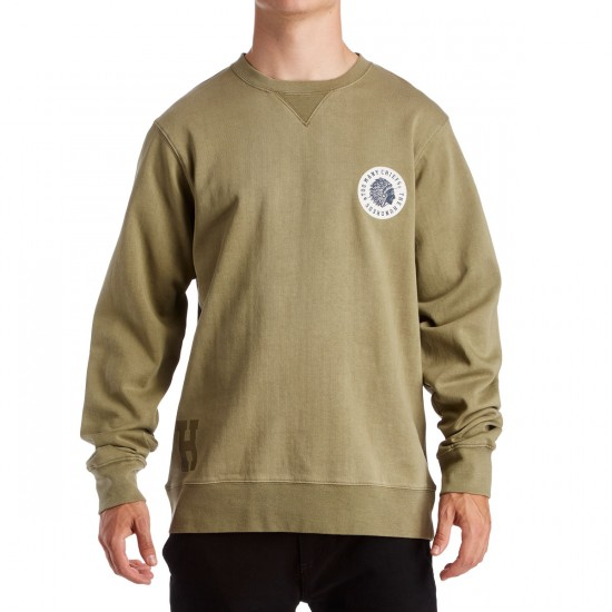 The Hundreds Scotch Crewneck Sweatshirt - Dusty Olive