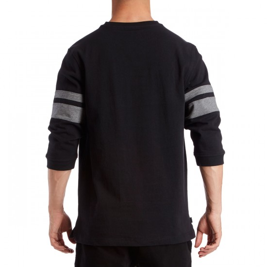 The Hundreds Bay 3/4 Sleeve T-Shirt - Black