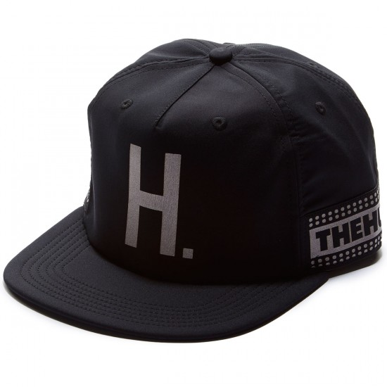 The Hundreds Eight Zipback Hat - Black