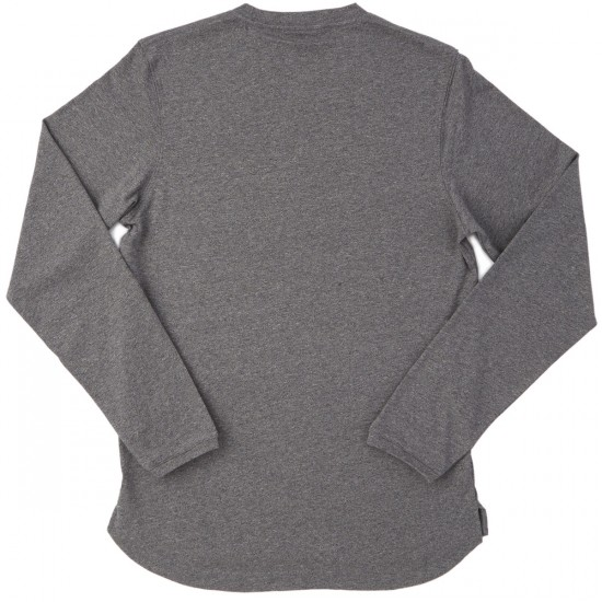 The Hundreds Ferris Long Sleeve T-Shirt - Charcoal