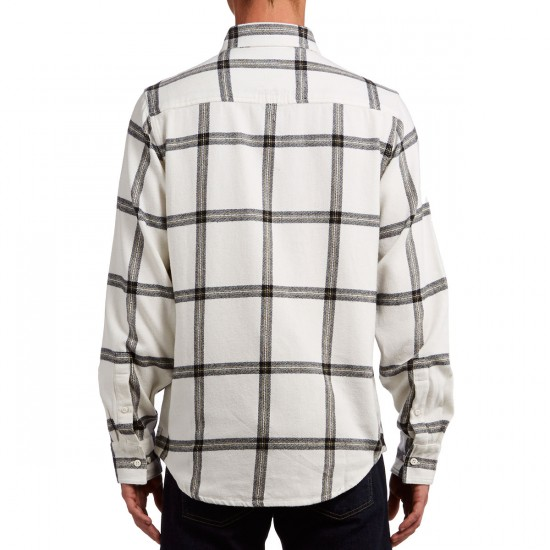 The Hundreds Wellen Long Sleeve Woven Shirt - Off White