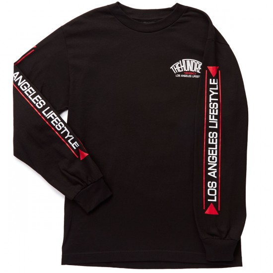 The Hundreds Chapter Long Sleeve T-Shirt - Black