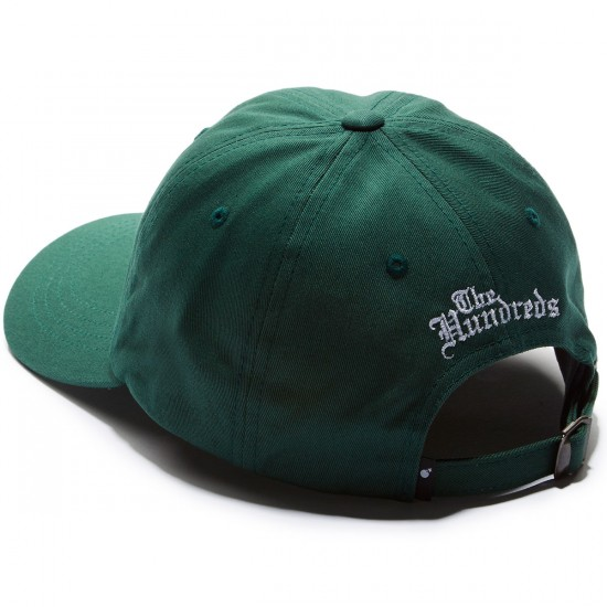 The Hundreds Rose Strapback Hat - Forest