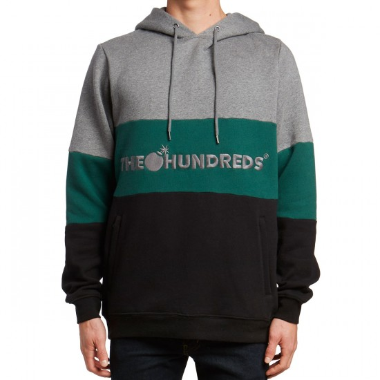 The Hundreds Canal Pullover Sweatshirt - Athletic Heather